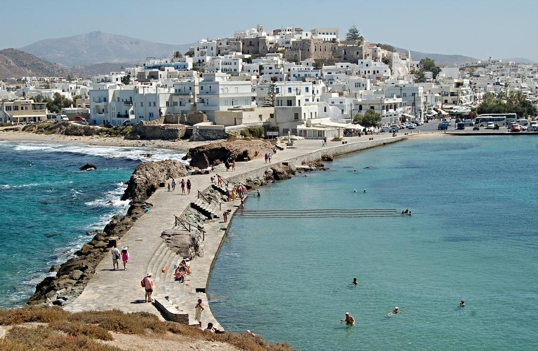 Naxos Islands in Greece